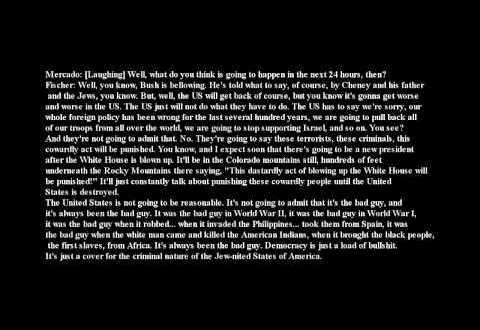 Bobby Fischer – 11 september 2001 (9/11) full interview, transcript