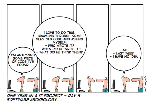 Software archeology – Andrea Girardi