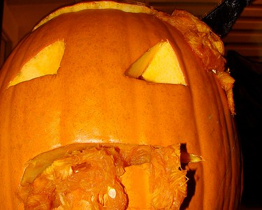 Pic of the Day: Evil pumpkin