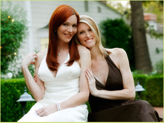 "A quick chat with Calpernia Addams and Andrea James of ""Transamerica Love Story"""