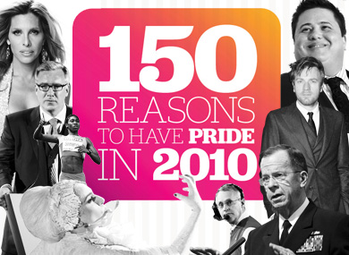 150 Reasons to Have Pride in 2010