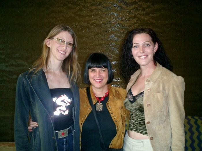 Andrea James, Eve Ensler, Calpernia Addams