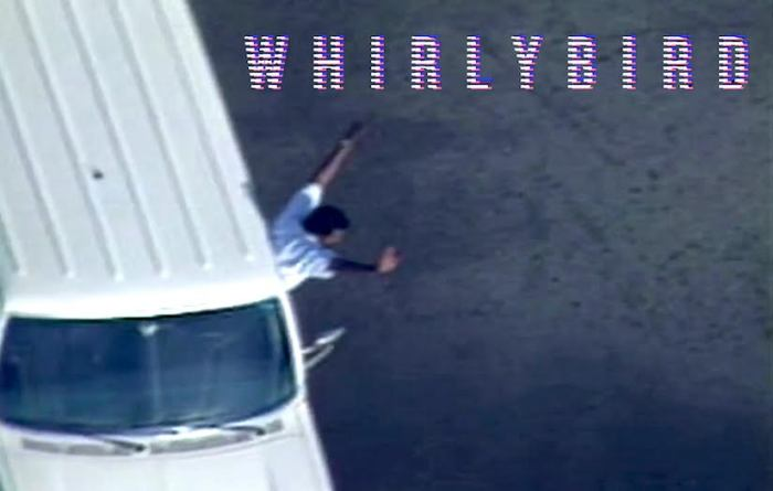 Still from the 2020 film Whirlybird by Matt Yoka