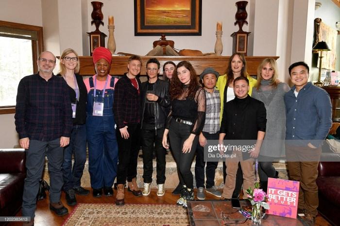 disclosure premiere party photo