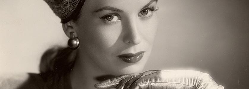 Andrea King, actress.