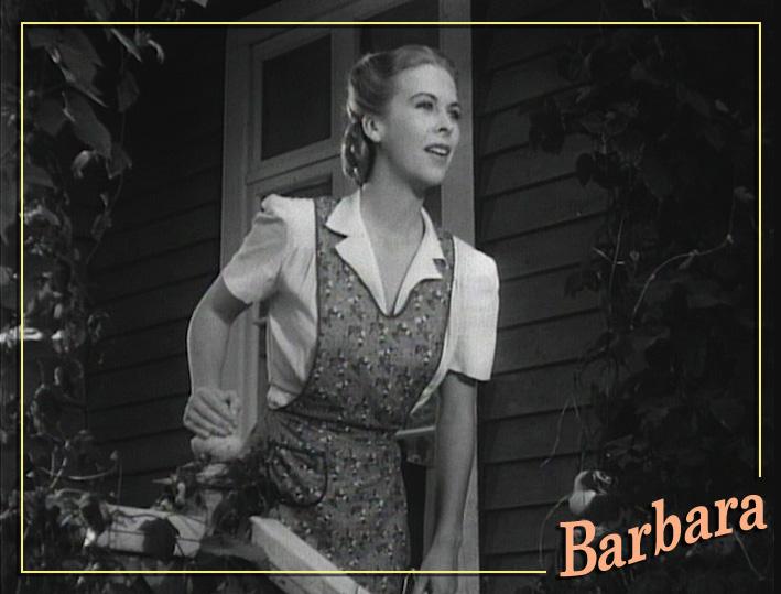 """Andrea King in """"Roughly Speaking."""" Warner Bros., 1945."""