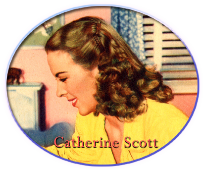 Andrea King as Catherine Scott in God Is My Co-Pilot, Warner Bros., 1945