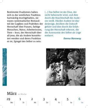 Kalenderblatt März 2016 Philosophischer Kalender Felix Meiner Verlag