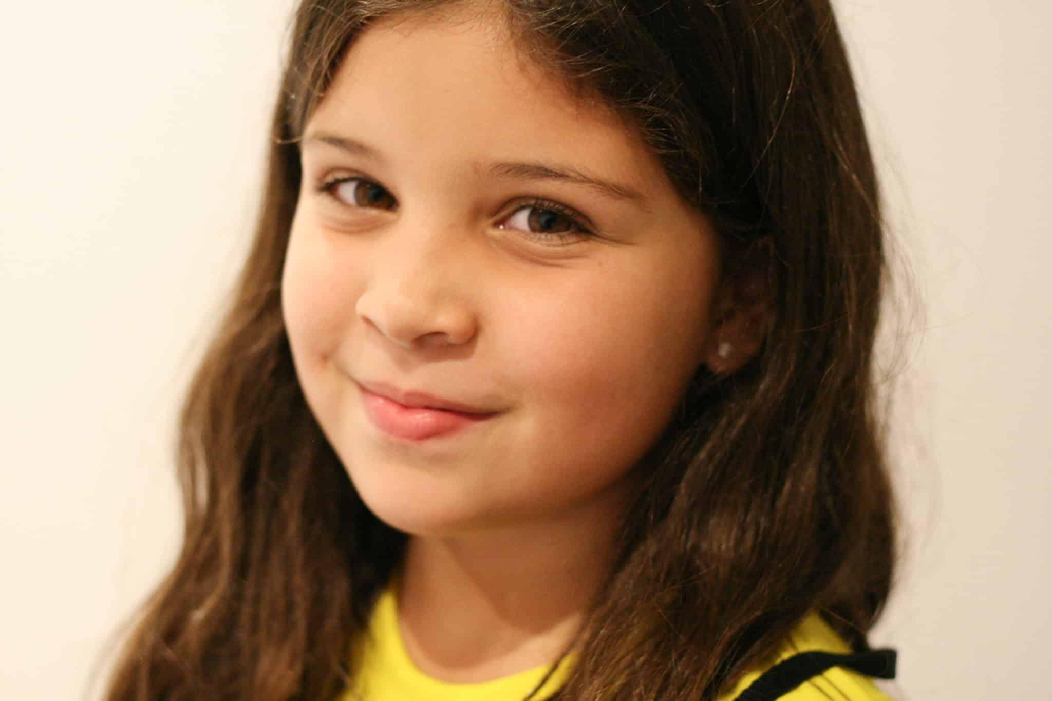 Gaby, Age 9