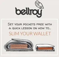 Comunicazione Web - Bellroy - Slim your Wallet Adwords