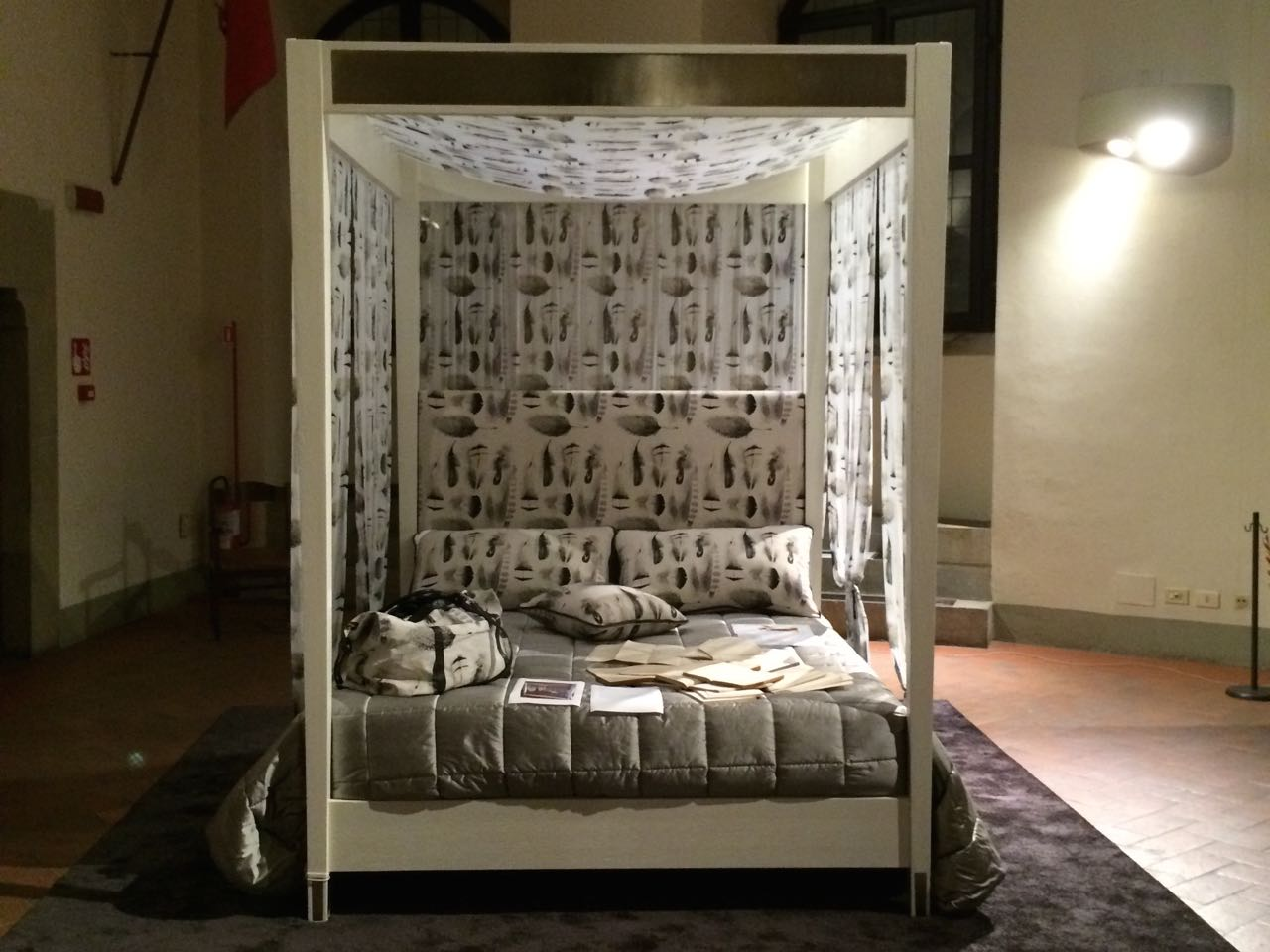 Andrea Mancini, My Bed, 2014. Installazione-6