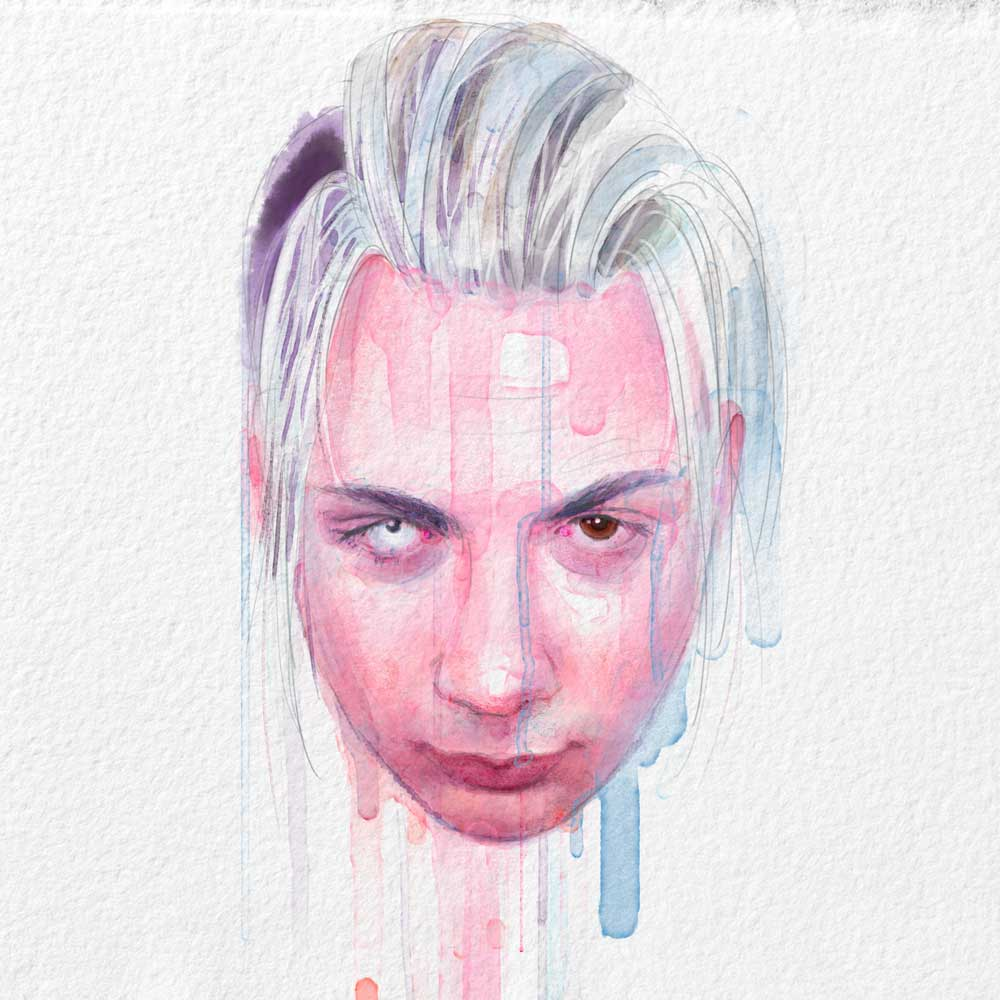Attitude, cover illustration