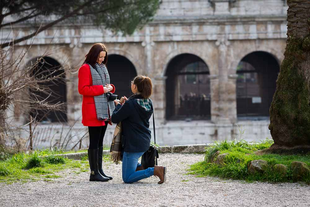 Rome Italy Gay Friendly Same Sex Wedding Proposal