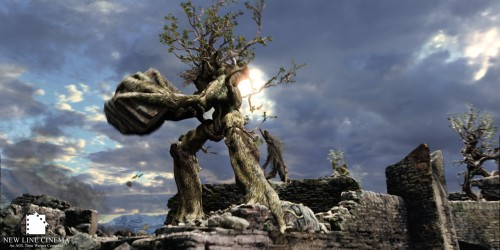 giant talking trees taking out industrial civilization, Tolkein-style