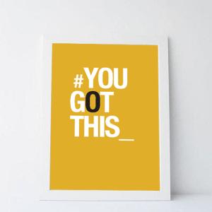 print | tu consegues . you got this