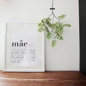 print | mãe . mother