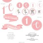 pastel rosa | kit festa . party kit
