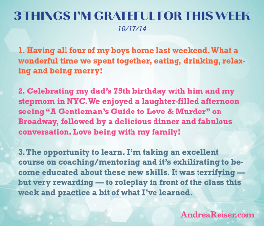 """A Gentle Reminder To Say """"Thank You"""" Andrea Reiser"""