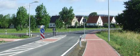 Querungshilfe Alter Postweg