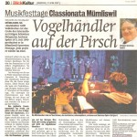 Internationale Musikfesttage Classionata.ch