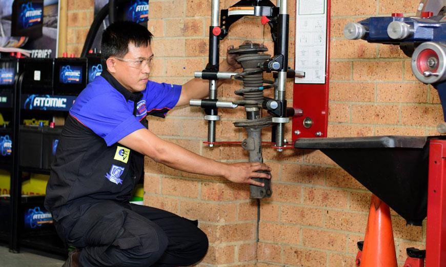 suspensions repairs