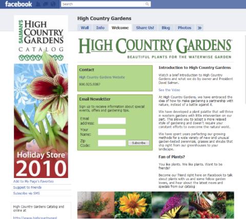 High Country Garden