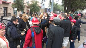 High Five Flash Mob