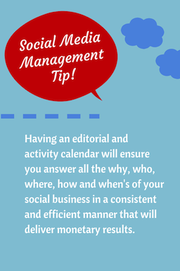 Social Media Management Tip