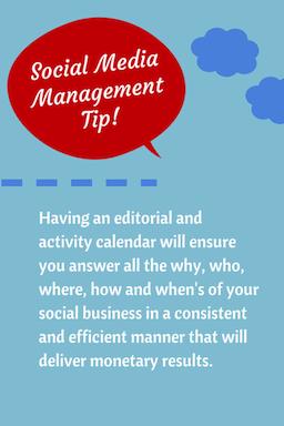 Social Media Management Tip