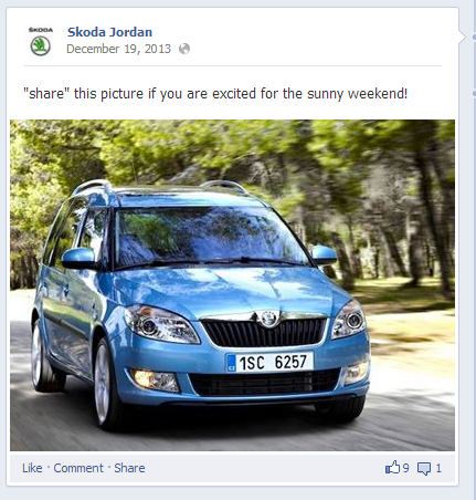 Share this car