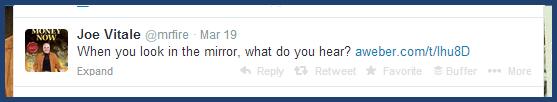 Twitter- Ask an Intriguing Question