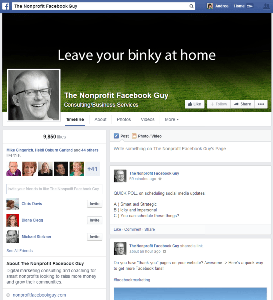 New FacebookTimeline Example