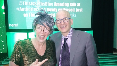Grandma Mary and Seth Godin