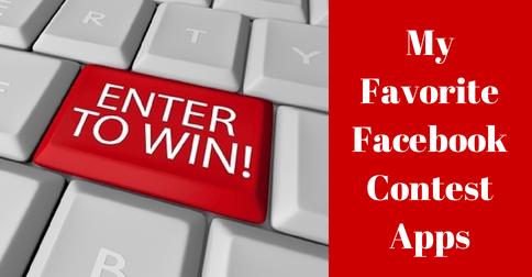 My Favorite Facebook Contest Apps