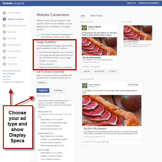 Facebook Ad Design guide