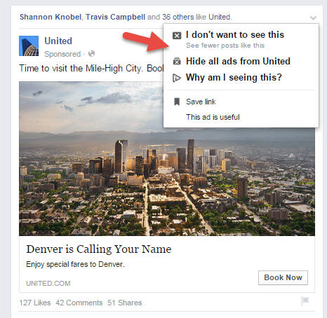 Hide all Facebook ads