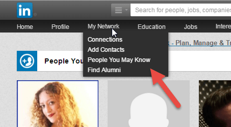 People you may know tool