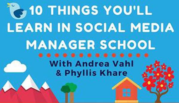 10 Things You'll Learn in Social Media Manager School