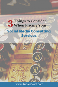 Pricing Your Social Media Consulting Services