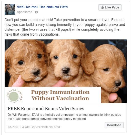 Immunization Facebook Ad2
