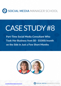 Social Media Manager Part time to Full time case study