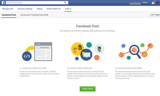 Install the Facebook Pixel
