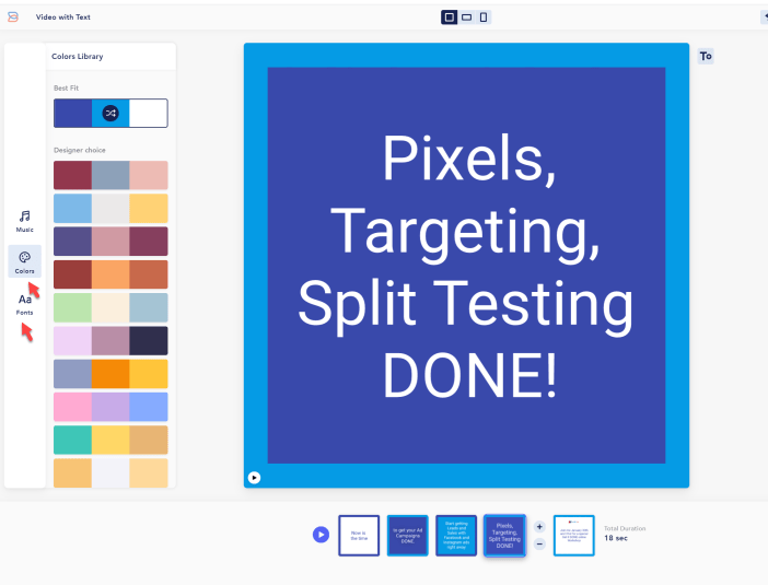 Customize Colors and Fonts
