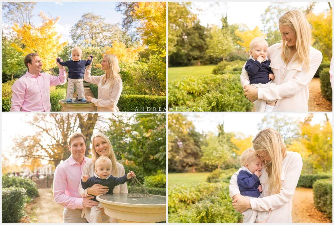 Family portrait photography Chiswick House and Gardens