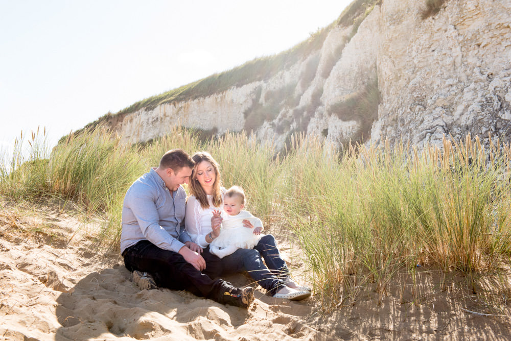 Botany Bay Beach Family Photographer in Kent