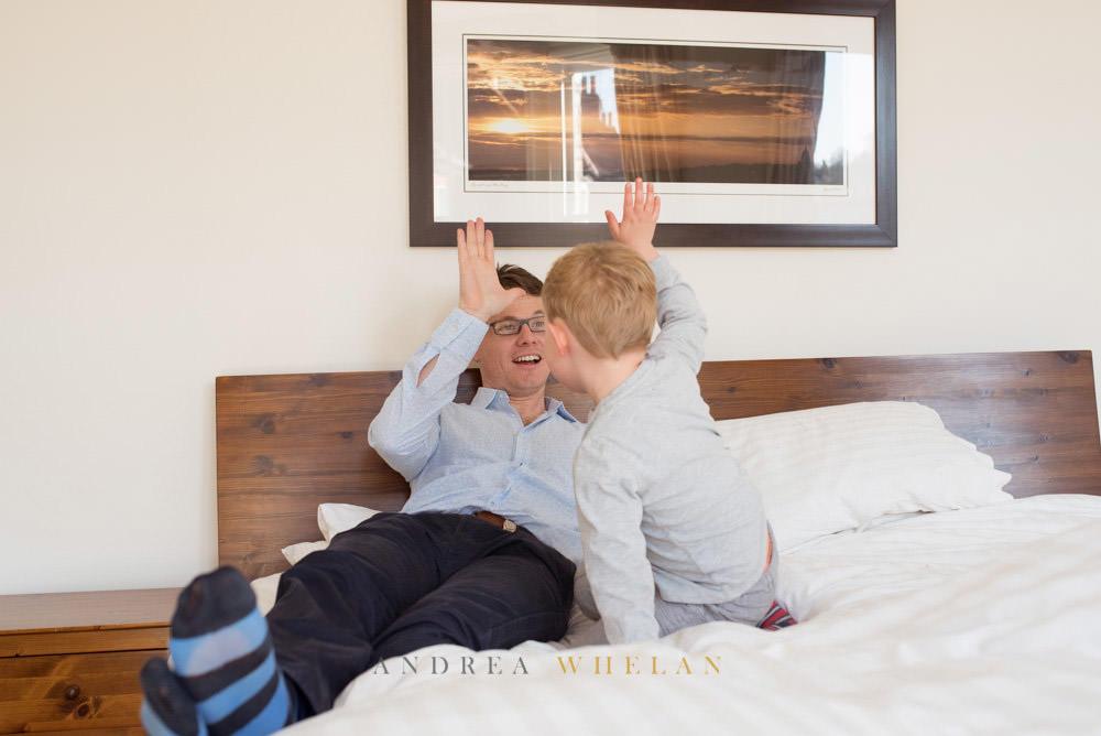 Dad and son fun photos
