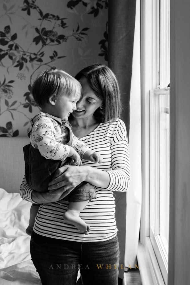 Pregnancy mum and baby photos