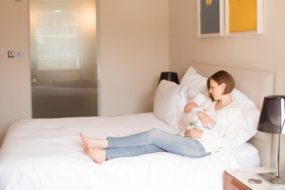 Newborn photo session London
