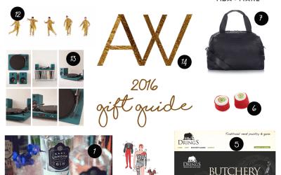 2016 Christmas Gift Guide – London