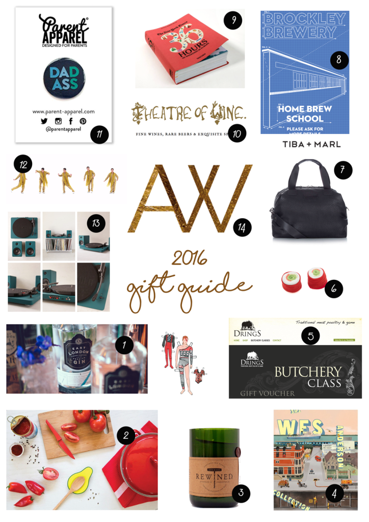 2016 Christmas gift guide - London
